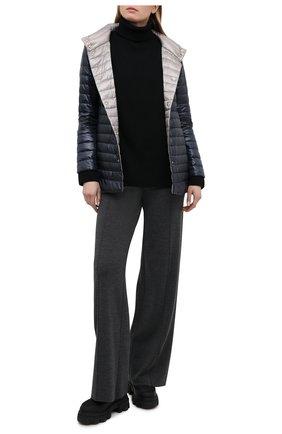 Женская пуховая куртка HERNO темно-синего цвета, арт. PI1234D/12017 | Фото 2