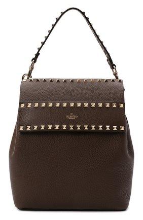 Женский рюкзак valentino garavani rockstud VALENTINO темно-бежевого цвета, арт. VW2B0H60/YRK | Фото 1