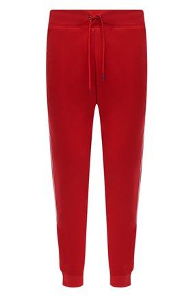 Мужские джоггеры POLO RALPH LAUREN красного цвета, арт. 710828373 | Фото 1 (Материал внешний: Хлопок, Синтетический материал; Силуэт М (брюки): Джоггеры; Стили: Спорт-шик; Длина (брюки, джинсы): Стандартные)