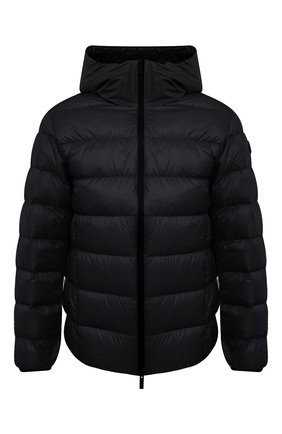 Мужская пуховая куртка provins MONCLER черного цвета, арт. G1-091-1A123-00-53279 | Фото 1 (Кросс-КТ: Куртка; Мужское Кросс-КТ: пуховик-короткий; Рукава: Длинные; Материал внешний: Синтетический материал; Материал подклада: Синтетический материал; Длина (верхняя одежда): Короткие; Материал утеплителя: Пух и перо; Стили: Кэжуэл)