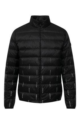 Мужская пуховая куртка domme MONCLER черного цвета, арт. G1-091-1B50F-00-53A73 | Фото 1