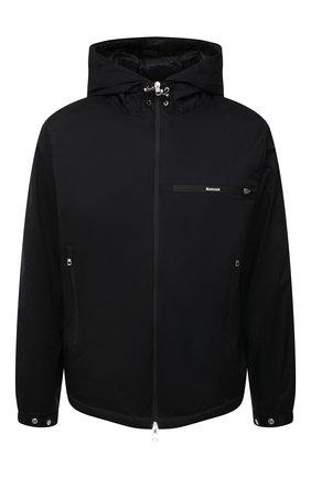 Мужская пуховая куртка loupiac MONCLER черного цвета, арт. G1-091-1B598-00-539HW   Фото 1