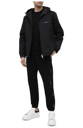 Мужская пуховая куртка loupiac MONCLER черного цвета, арт. G1-091-1B598-00-539HW   Фото 2