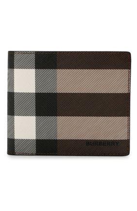 Мужской портмоне BURBERRY коричневого цвета, арт. 8036666 | Фото 1