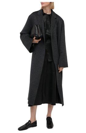 Женская юбка NANUSHKA черного цвета, арт. ZAYRA_BLACK_VEGAN LEATHER | Фото 2
