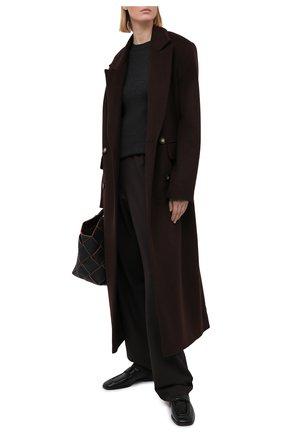 Женский пуловер BRUNELLO CUCINELLI темно-серого цвета, арт. M41822900 | Фото 2