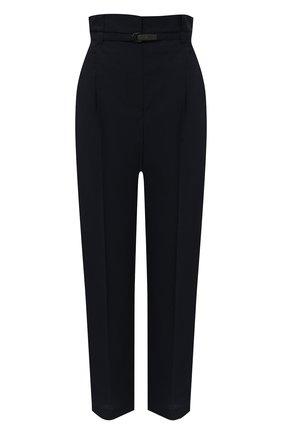 Женские хлопковые брюки BRUNELLO CUCINELLI синего цвета, арт. M0F79P7461 | Фото 1