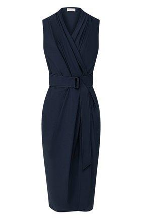 Женское хлопковое платье BRUNELLO CUCINELLI темно-синего цвета, арт. M0F79A4523 | Фото 1