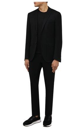Мужские комбинированные кроссовки piuma Z ZEGNA черного цвета, арт. A4921X-LHCB0 | Фото 2