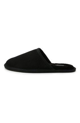 Мужского домашние туфли BOSS черного цвета, арт. 50445700 | Фото 3