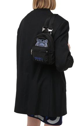 Женский рюкзак kampus mini KENZO черного цвета, арт. FA65SF301F20   Фото 2