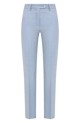 Женские брюки KITON голубого цвета, арт. D49109K09T23 | Фото 1
