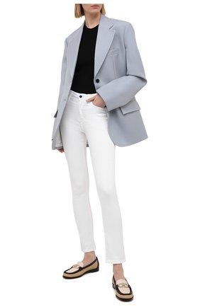 Женские джинсы KITON белого цвета, арт. DJ51101/X08T51 | Фото 2