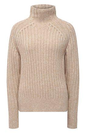 Женский свитер из шерсти и кашемира POLO RALPH LAUREN коричневого цвета, арт. 211780367 | Фото 1