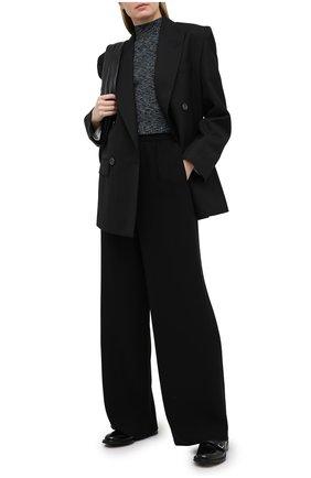 Женский пуловер из вискозы THEORY черного цвета, арт. K1116716 | Фото 2