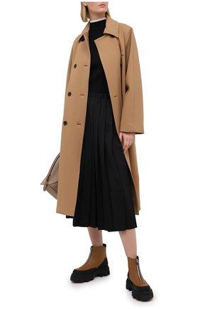 Женский пуловер из вискозы THEORY черного цвета, арт. K1116714 | Фото 2