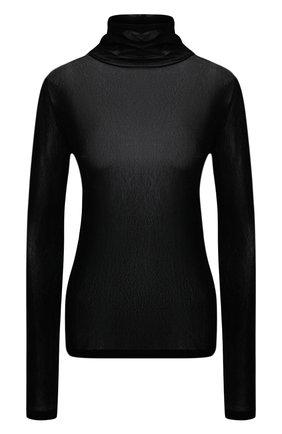 Женская водолазка HELMUT LANG черного цвета, арт. K10HW509   Фото 1