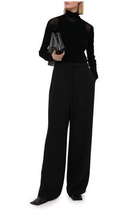 Женская водолазка HELMUT LANG черного цвета, арт. K10HW509   Фото 2