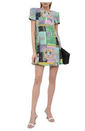 Женское платье VERSACE разноцветного цвета, арт. A88370/1F00518 | Фото 2