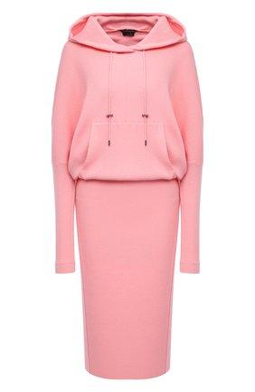 Женское кашемировое платье TOM FORD светло-розового цвета, арт. ACK182-YAX179 | Фото 1