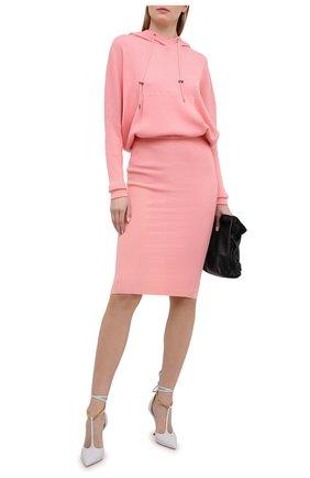 Женское кашемировое платье TOM FORD светло-розового цвета, арт. ACK182-YAX179 | Фото 2