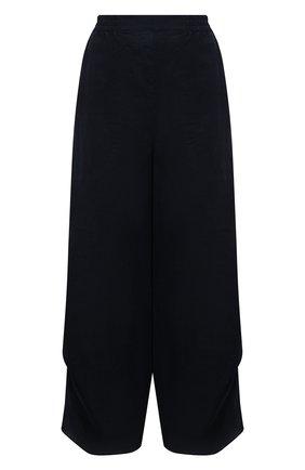 Женские льняные брюки GIORGIO ARMANI синего цвета, арт. 1SHPP0HA/T022F | Фото 1