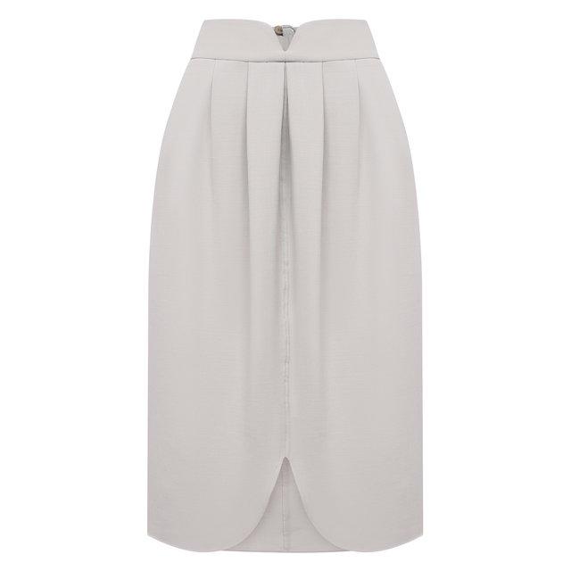 Шерстяная юбка Giorgio Armani