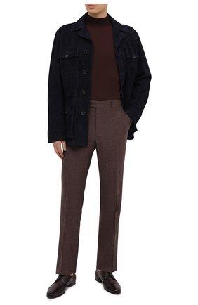 Мужские кожаные дерби BARRETT бордового цвета, арт. 141U034.53/CERV0 ASP0RTABILE   Фото 2