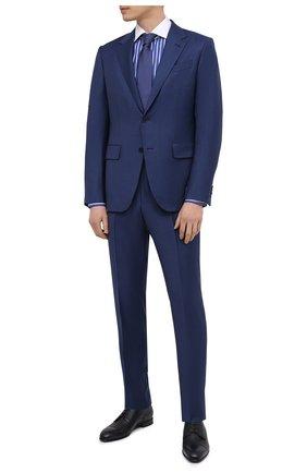 Мужские кожаные дерби BARRETT темно-синего цвета, арт. 192U042.27/CERV0 ASP0RTABILE | Фото 2