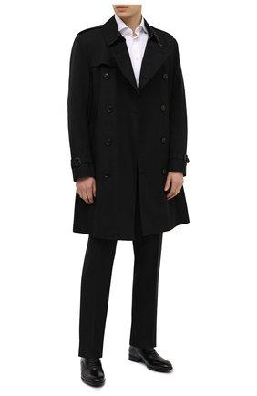 Мужские кожаные оксфорды BARRETT черного цвета, арт. 201U031.1/VITELL0 K | Фото 2