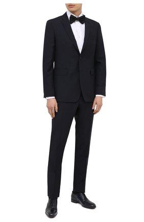 Мужские кожаные оксфорды BARRETT темно-синего цвета, арт. 201U031.24/C0RSAR0 | Фото 2