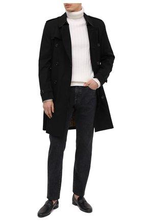 Мужские кожаные лоферы BARRETT черного цвета, арт. 211U003.4/C0RSAR0 | Фото 2