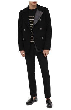 Мужские кожаные лоферы BARRETT черного цвета, арт. 211U006.4/SPAZZ0LAT0 | Фото 2