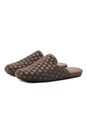 Мужского домашние туфли HOMERS AT HOME коричневого цвета, арт. 16097/ANTE | Фото 1