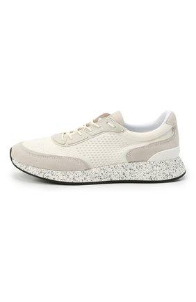 Мужские комбинированные кроссовки piuma Z ZEGNA белого цвета, арт. A4921X-LHCB0   Фото 3 (Материал внешний: Текстиль; Материал внутренний: Текстиль; Подошва: Массивная; Стили: Спорт)