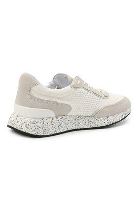 Мужские комбинированные кроссовки piuma Z ZEGNA белого цвета, арт. A4921X-LHCB0   Фото 4 (Материал внешний: Текстиль; Материал внутренний: Текстиль; Подошва: Массивная; Стили: Спорт)