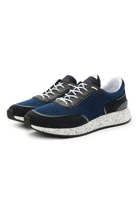 Мужские комбинированные кроссовки piuma Z ZEGNA синего цвета, арт. A4921X-LHCB0 | Фото 1