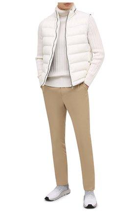 Мужские текстильные кроссовки techmerino sock 2.0 Z ZEGNA светло-серого цвета, арт. A4923X-LHLLA | Фото 2 (Материал внутренний: Текстиль; Материал внешний: Текстиль; Подошва: Массивная; Стили: Спорт)