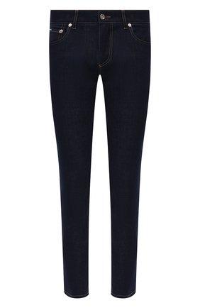 Мужские джинсы DOLCE & GABBANA синего цвета, арт. GY07LZ/G8DM7   Фото 1