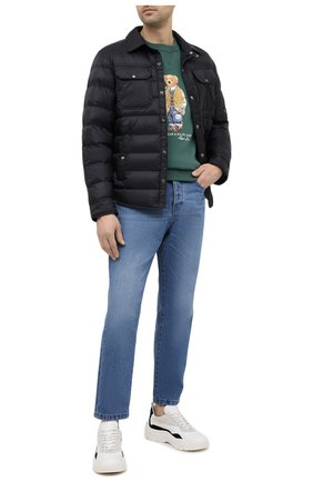 Мужская утепленная куртка POLO RALPH LAUREN черного цвета, арт. 710810901 | Фото 2