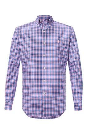 Мужская хлопковая рубашка POLO RALPH LAUREN разноцветного цвета, арт. 710829472/5197B | Фото 1