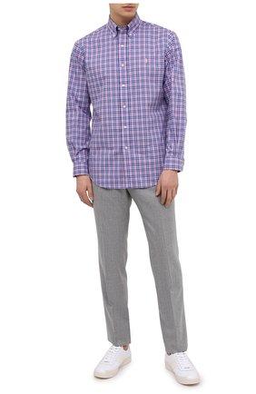 Мужская хлопковая рубашка POLO RALPH LAUREN разноцветного цвета, арт. 710829472/5197B | Фото 2
