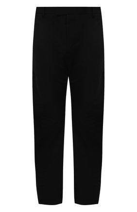 Мужские хлопковые брюки BOTTEGA VENETA черного цвета, арт. 647392/V0FJ0   Фото 1