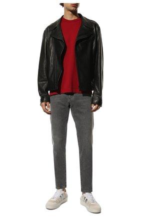 Мужская хлопковая футболка DOLCE & GABBANA красного цвета, арт. G8JX7T/FU7EQ | Фото 2