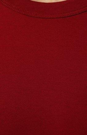 Мужская хлопковая футболка DOLCE & GABBANA красного цвета, арт. G8JX7T/FU7EQ | Фото 5