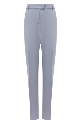 Женские шерстяные брюки GIORGIO ARMANI голубого цвета, арт. 1SHPP0G8/T01QW | Фото 1