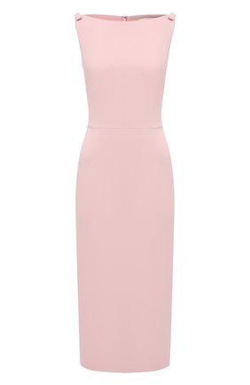 Женское платье VALENTINO розового цвета, арт. VB3VAV9765C | Фото 1
