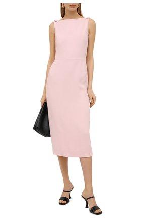 Женское платье VALENTINO розового цвета, арт. VB3VAV9765C | Фото 2