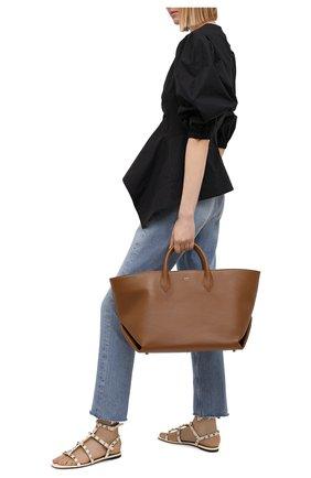 Женские кожаные сандалии valentino garavani rockstud VALENTINO белого цвета, арт. VW2S0A05/V0D | Фото 2