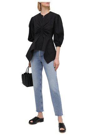 Женские кожаные сабо iggy BY FAR черного цвета, арт. 21CRIGSBLCRE | Фото 2